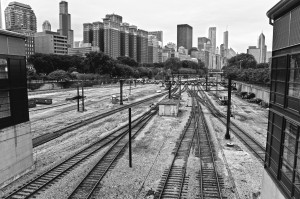 Chicago rail-yard