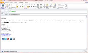 Lifto CRM Step1- Write Email Click Send SLX 1.13.2015