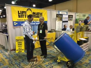 Liftomatic ChemEdge Booth