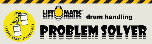 Liftomatic Drum Handling Problem Solver
